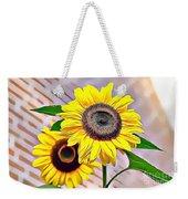 Naturalness And Flowers 60 Weekender Tote Bag