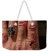 Nature's Dragonfly Weekender Tote Bag