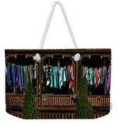Neon Washline Weekender Tote Bag by Wayne King