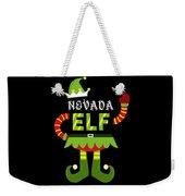 Nevada Elf Xmas Elf Santa Helper Christmas Weekender Tote Bag