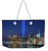 New York City 9/11 Commemoration  Weekender Tote Bag