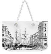 New York Docks, 1856 Weekender Tote Bag