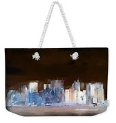 New York Skyline Illustration 1 Weekender Tote Bag