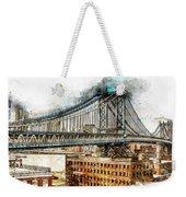 New York Panorama - 29 Weekender Tote Bag