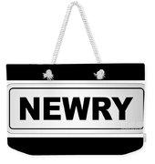 Newry City Nameplate Weekender Tote Bag