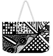 Night And Day 5 Weekender Tote Bag