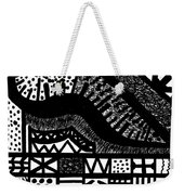 Night And Day 6 Weekender Tote Bag