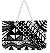 Night And Day 7 Weekender Tote Bag