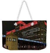 Night City Colors Weekender Tote Bag