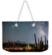 Night On Santiam Pass Weekender Tote Bag