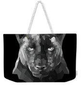 Night Panther Weekender Tote Bag