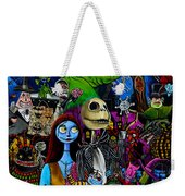 Nightmare Before Christmas Weekender Tote Bag
