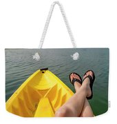 No Particular Place To Go In Maine Weekender Tote Bag