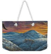 No Place Like Home Weekender Tote Bag by Kim Lockman