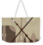 No1042 My The Crimes Of Grindelwald Minimal Movie Poster Weekender Tote Bag