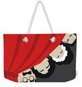 No1053 My A Night At The Opera Minimal Movie Poster Weekender Tote Bag