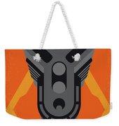 No1075 My Doom Minimal Movie Poster Weekender Tote Bag