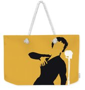No224 My Edith Piaf Minimal Music Poster Weekender Tote Bag