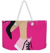 No987 My Working Girl Minimal Movie Poster Weekender Tote Bag