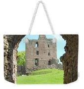 Norham Castle And Entrance Gate Weekender Tote Bag