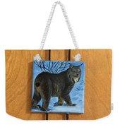 Northern Alberta  Lynx  Weekender Tote Bag