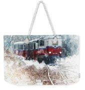 Northern European Train Weekender Tote Bag