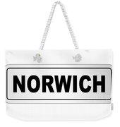 Norwich City Nameplate Weekender Tote Bag