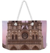 Notre Dame Cathedral Dawn Weekender Tote Bag by Jemmy Archer