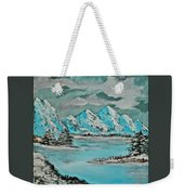 Number 2 - I Know Where To Go On A Cloudy Day Weekender Tote Bag