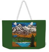 Number Four - Call Of The Wild Weekender Tote Bag