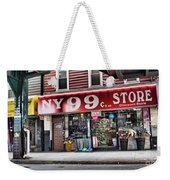 Ny 99 Cent Store Brooklyn  Weekender Tote Bag