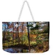October Late Afternoon Weekender Tote Bag by Kendall McKernon