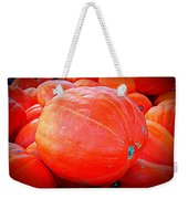 October Pumpkin Weekender Tote Bag