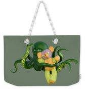Octopus Green And Bear Weekender Tote Bag