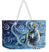 Octopus Of Nine Brains Weekender Tote Bag