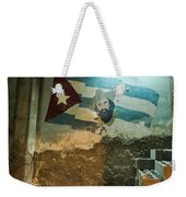 Ode To Cuba Weekender Tote Bag by Robin Zygelman