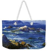 Off Mission Point Aka Point Lobos Weekender Tote Bag