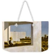 Office In A Small City  Weekender Tote Bag