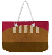 Ohio State Football Minimalist Retro Sports Poster Series 003 Weekender Tote Bag