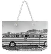 Old Abandoned Vintage Bus Jerome Arizona Weekender Tote Bag