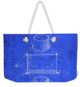 Old Ant Trap Vintage Patent Blueprint Weekender Tote Bag