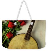 Old Banjo And Roses Weekender Tote Bag