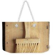 Old Bristle Brush Weekender Tote Bag