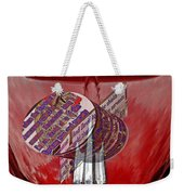 Old Car Hood With 3d Text Boxes Weekender Tote Bag