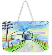 Old Covered Bridge - Avonport N.s. Weekender Tote Bag