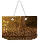 Old Cypress Tree Roots Weekender Tote Bag