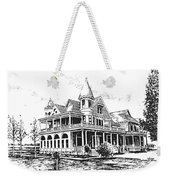 Old Daly Mansion Hamilton Montana Weekender Tote Bag