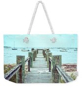 Old Dock Hyannis Port Cape Cod Ma Weekender Tote Bag