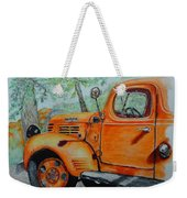 Old Dodge Truck At Patterson Farms Weekender Tote Bag