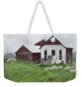 Old Farm Buildings Weekender Tote Bag